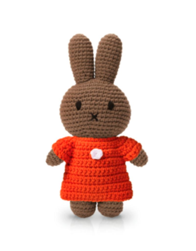 Just Dutch Melanie Handmade in Orange Dress