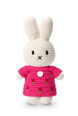 Just Dutch Miffy Handmade in Pink Tulip Dress