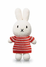 Just Dutch Miffy Handmade in Red Striped Dress