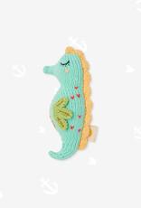 Knitabuddy Rattle Minty The Seahorse