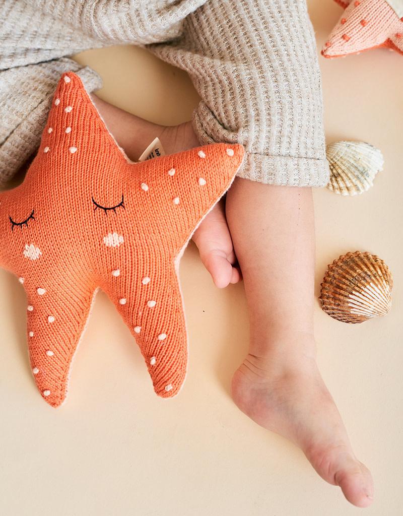 Knitabuddy Soft Toy Peach The Starfish