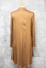Q-Neel Blouse Camel