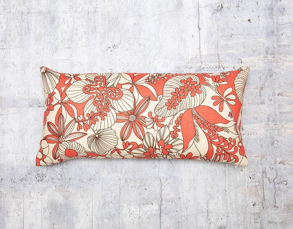 Kreatelier Deco Orange Pillow 10 x 20in