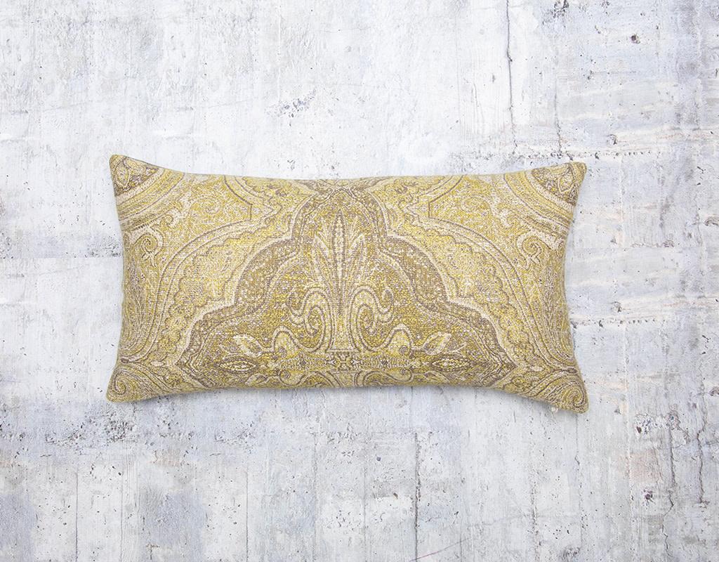 Kreatelier Karma Limoncello Pillow 10 x 18in