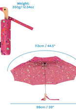 Original Duckhead Terraz-Wow in Pink Compact Umbrella