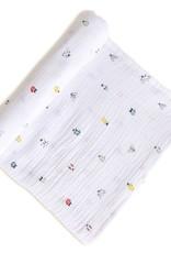 Pehr Designs Swaddle Blanket Love Bug