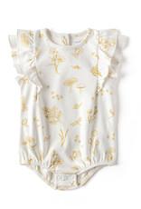 Pehr Designs Organic Sleeveless Flutter One Piece Botanica