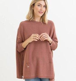 Mer-Sea & Co Catalina Crewneck Sweater Clay