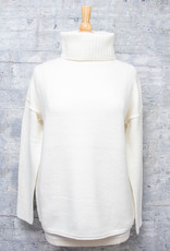 RD International Knit Sweater Winter White