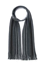 Fraas Scarf Ombre Mini Stripe Black/White
