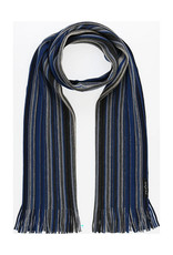 Fraas Scarf Ombre Mini Stripe Navy