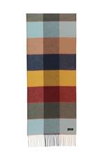 Fraas Scarf Multi Colour Cashmink Turquoise