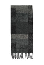 Fraas Scarf Abstract Colorblock Black