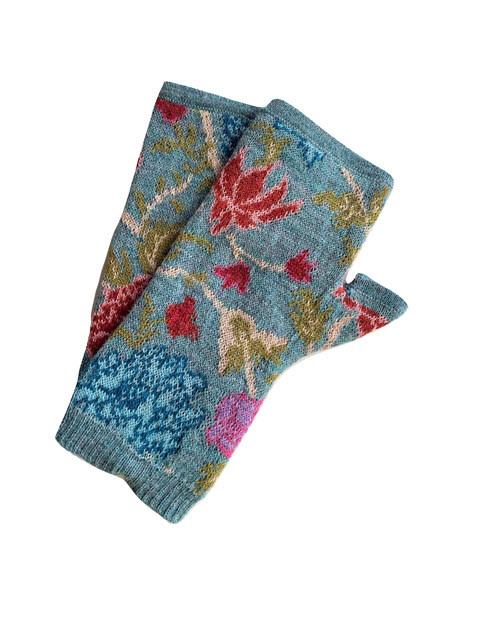 Tey-Art Melinda Alpaca Gloves Aqua
