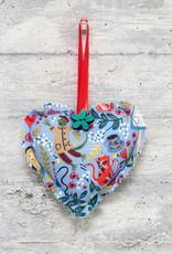 Kreatelier Fabric Heart Alice in Wonderland