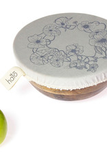 Halo Dish and Bowl Cover Edible Flowers Set of 3 Small