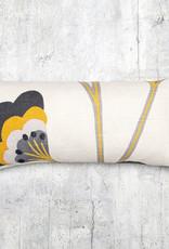 Kreatelier Thenard Pillow Saffron 9 x  19in