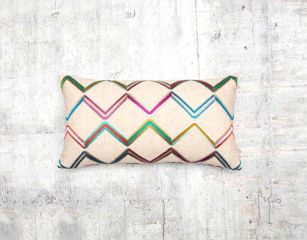 Kreatelier Danza Pillow Tutti Frutti  10 x 18in