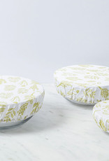 Rockflowerpaper Cotton Dish Cover Herbs