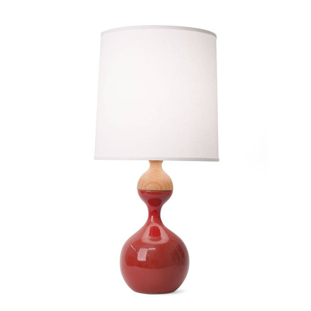 J Schatz Kuni Juu Table Lamp Red Medium