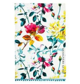 Designers Guild Couture Rose Fuchsia Tea Towel