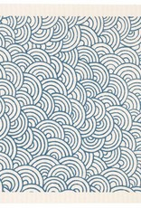 Swedish Dischcloth Circles Blue