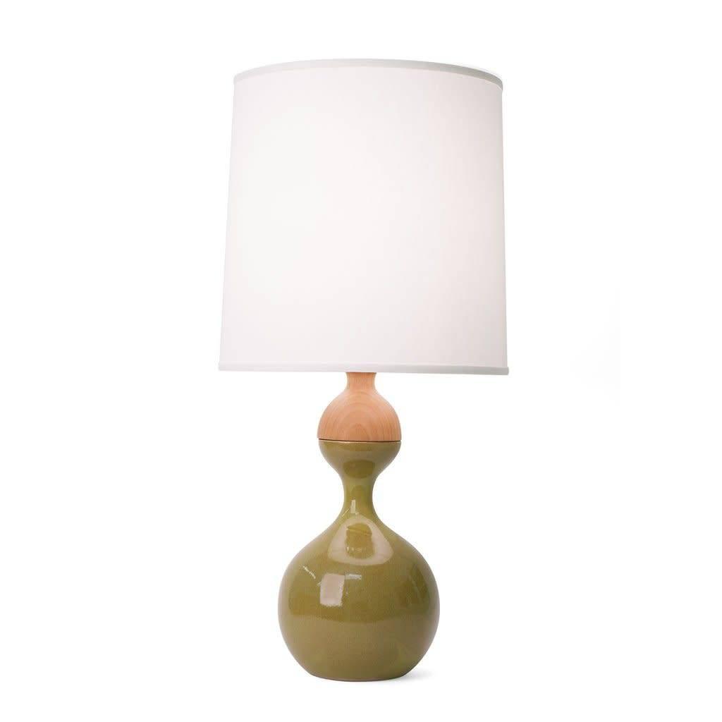 J Schatz Kuni Juu Table Lamp Olive Medium