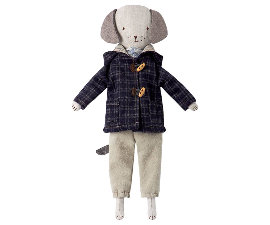 Maileg Best Friends Duffel Coat Marine