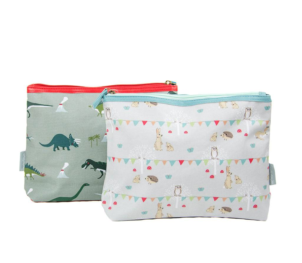Sophie Allport Wash Bag in Dinosaurs