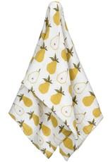 Milkbarn Organic Swaddle Blanket Yellow Pear