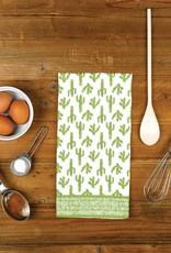 Rockflowerpaper Kitchen Towel Cactus Green