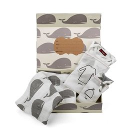Milkbarn Keepsake Set in Grey Whale