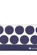 3greenmoms Reusable Snack Bag Navy Dot (Zippered)