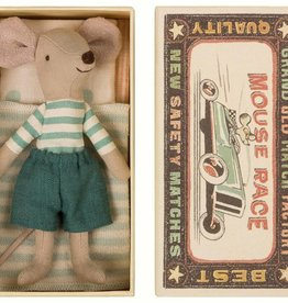 Maileg Mouse Big Brother Blue Short