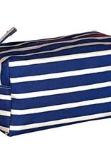 Rockflowerpaper Dopp Kit Stripe Navy