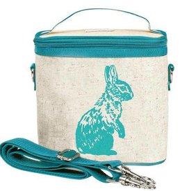 So Young Small Cooler Bag Aqua Bunny