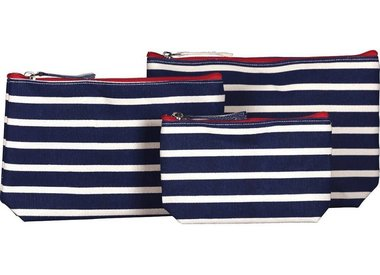 Cosmetic Bags and Zip Pouches