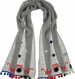 Fraas Nordic Scarf Denim