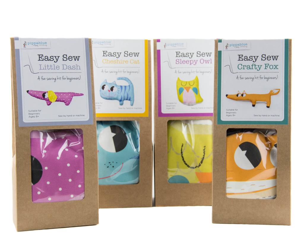Pippablue Easy Sew Cheshire Cat Kit