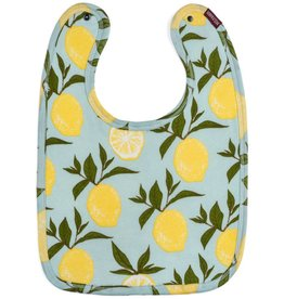 Milkbarn Organic Traditional Bib Lemon