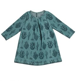 Winter Water Factory Aspen Baby Dress Cactus Teal