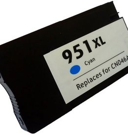 For HP 951 XL Cyan