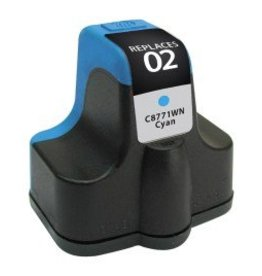 For HP 02 Cyan