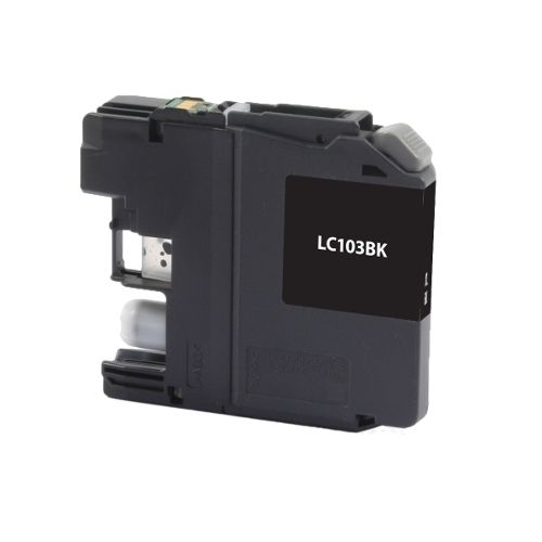 For Brother LC-103 Black High Yield