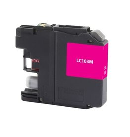 For Brother LC-103 Magenta High Yield