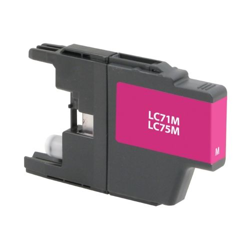 For Brother LC-75 Magenta High Yield