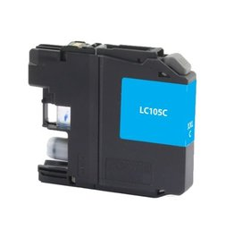 For Brother LC-105 Cyan High Yield