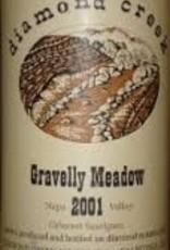 DIAMOND CREEK GRAVELLY MEADOW CABERNET SAUVIGNON 2001 750ML