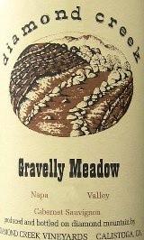 DIAMOND CREEK GRAVELLY MEADOW CABERNET SAUVIGNON 1998 750ML