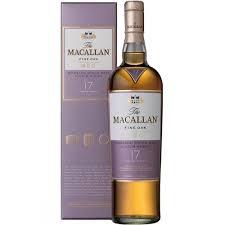 MACALLAN 17YR SINGLE HIGHLAND MALT SCOTCH WHISKY 750ML